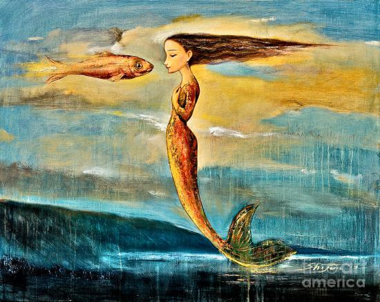 """Mystic Mermaid IIi"" by Shijun Munns"
