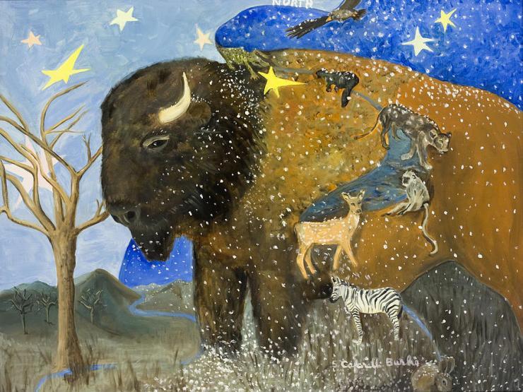 """Path of the Buffalo"" by Susan Cafarelli Burke, www.fineartamerica.com"