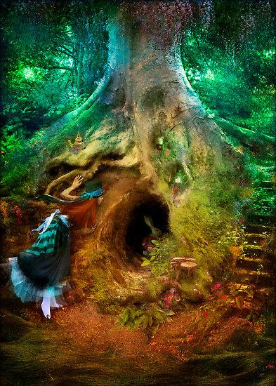 """""""Down the Rabbit Hole"""" by Aimee Stewart"""