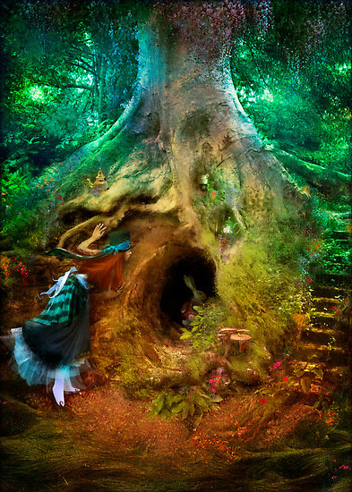 """Down the Rabbit Hole"" by Aimee Stewart"