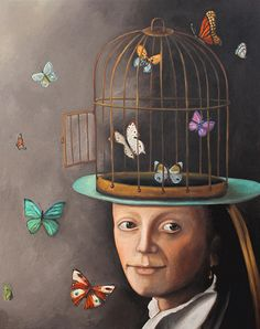 """The Butterfly Keeper"" by Leah Saulnier"
