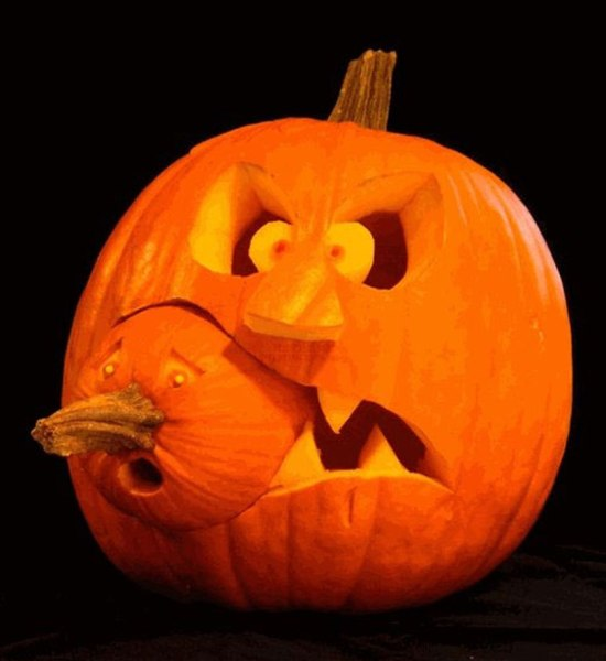 Halloween grew from the older pagan tradition of Samhain...